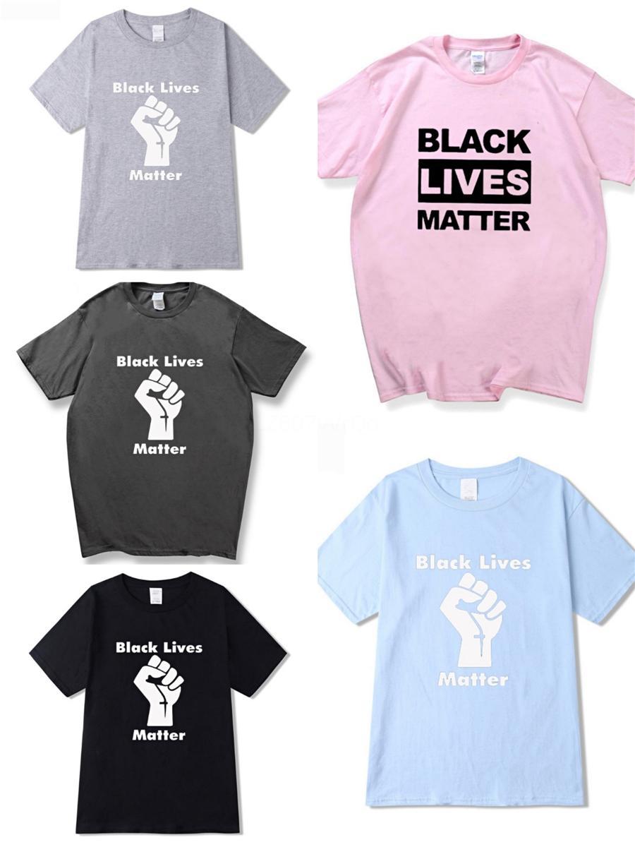 Eu não posso respirar! 2020 Verão New Fasion Mens alta qualidade camisetas ~ manga curta Tamanho EUA Tshirts Flor Mens ~ Designer Camiseta # 645
