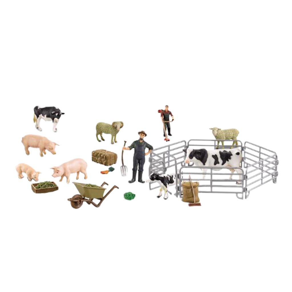 Simulation Farm Animals Model Figurine Educational Kids Nature /& Science Toy