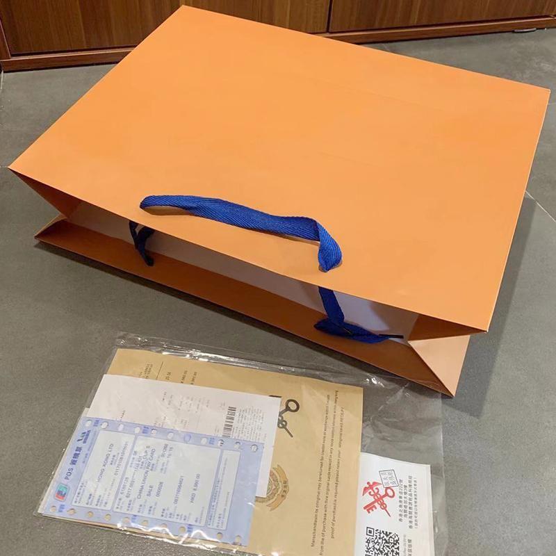 هدية عيد الميلاد الأصل مصمم حقيبة يد حقيبة هدية فاخرة حقائب المحافظ حقائب الكتف متعلقات حقائب هدية + الإيصال