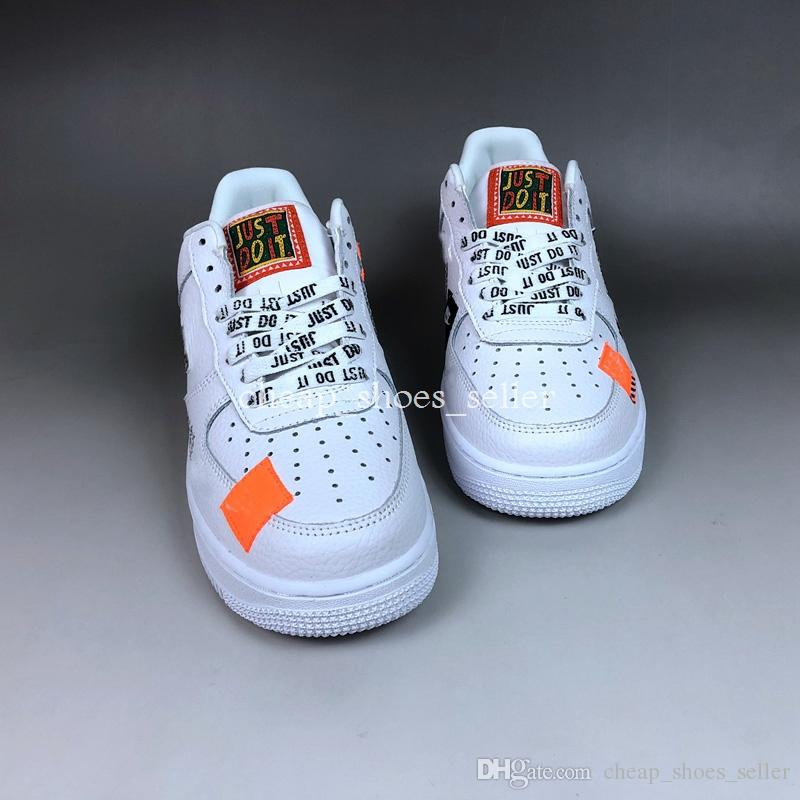 air force one just do it orange femme