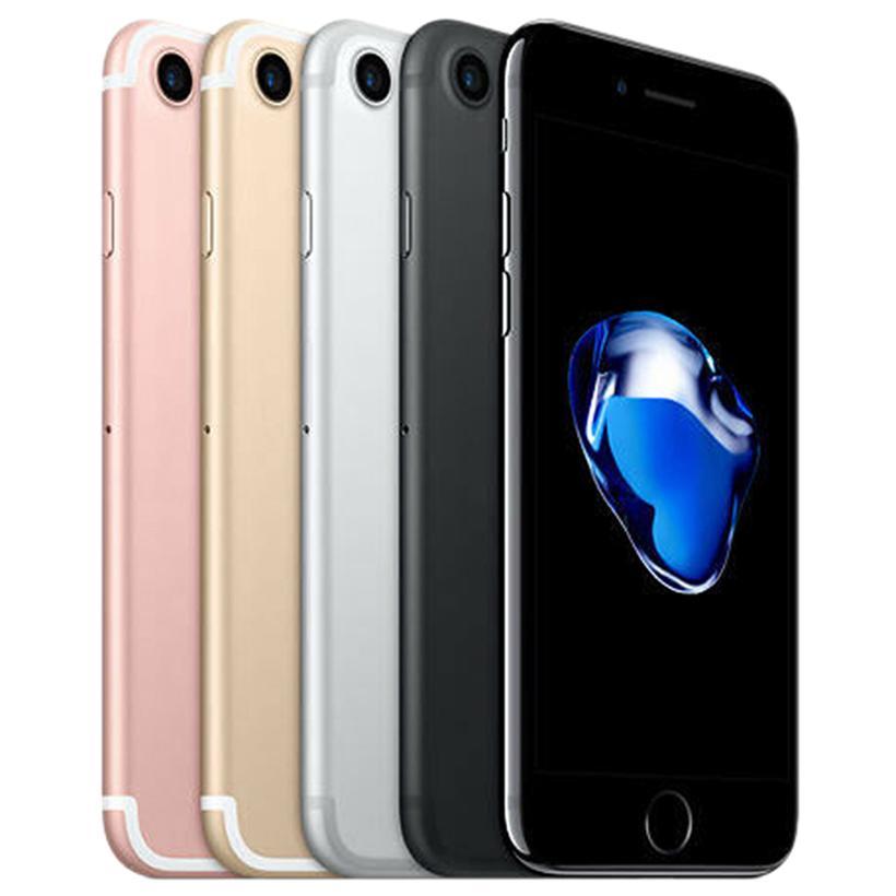 Original Recuperado de Apple iPhone iOS 7 4,7 polegadas Fingerprint A10 Quad Core 2 GB de RAM 32/128 / 256GB ROM 12MP Desbloqueado 4G LTE telefone 1pcs grátis DHL