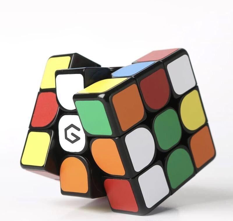 Оригинал Youpin Giiker M3 магнитный куб 3x3x3 яркий цвет квадратный волшебный кубик головоломки науки образования работы с приложением Giiker 3011427