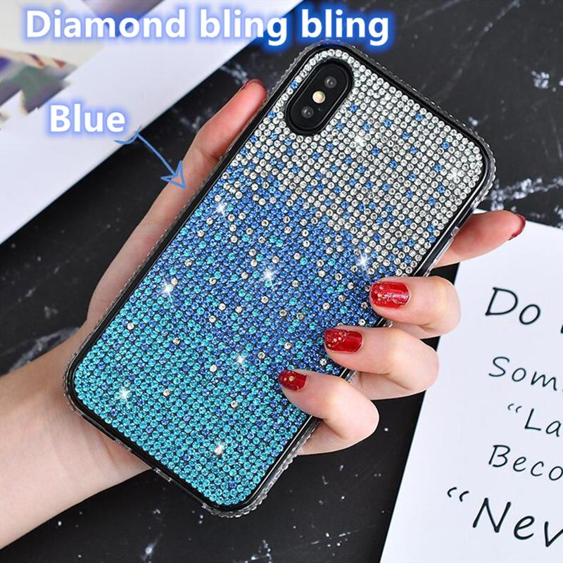 Luxury Bling crystal Liquid glitter 360 protect Designer Phone Case shockproof waterproof back cover for new iphone 11 note 10 plus case