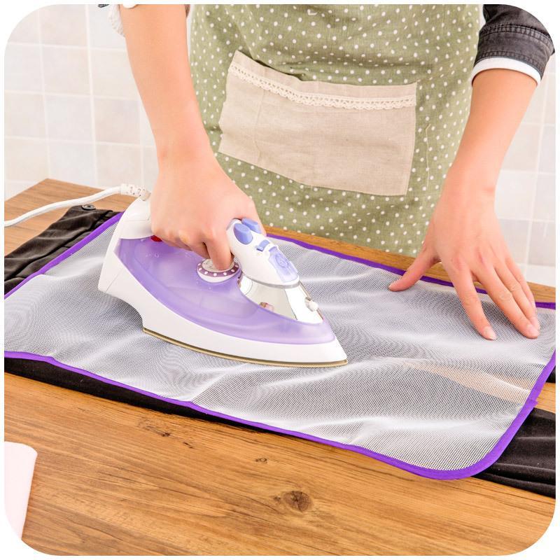 2020 venta caliente 1PCS nuevo llega el calor de tela resistente malla tabla de planchar Mat cubierta del paño Proteger cojín de planchado