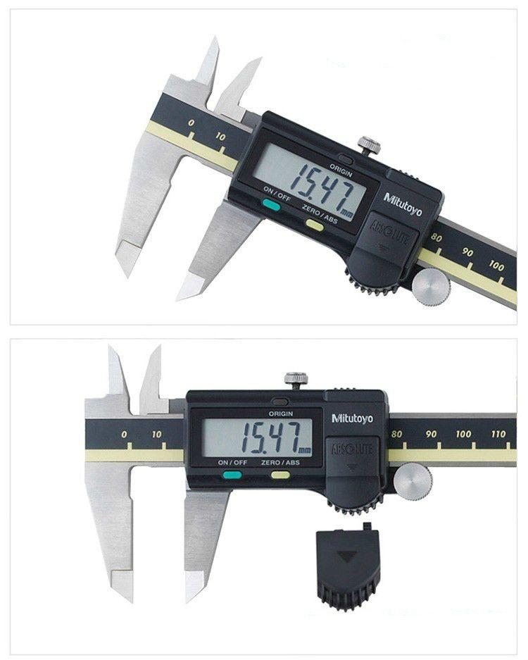 Mitutoyo CNC LCD Caliper Digital Vernier Calipers 8inch 200mm Caliper Electronic