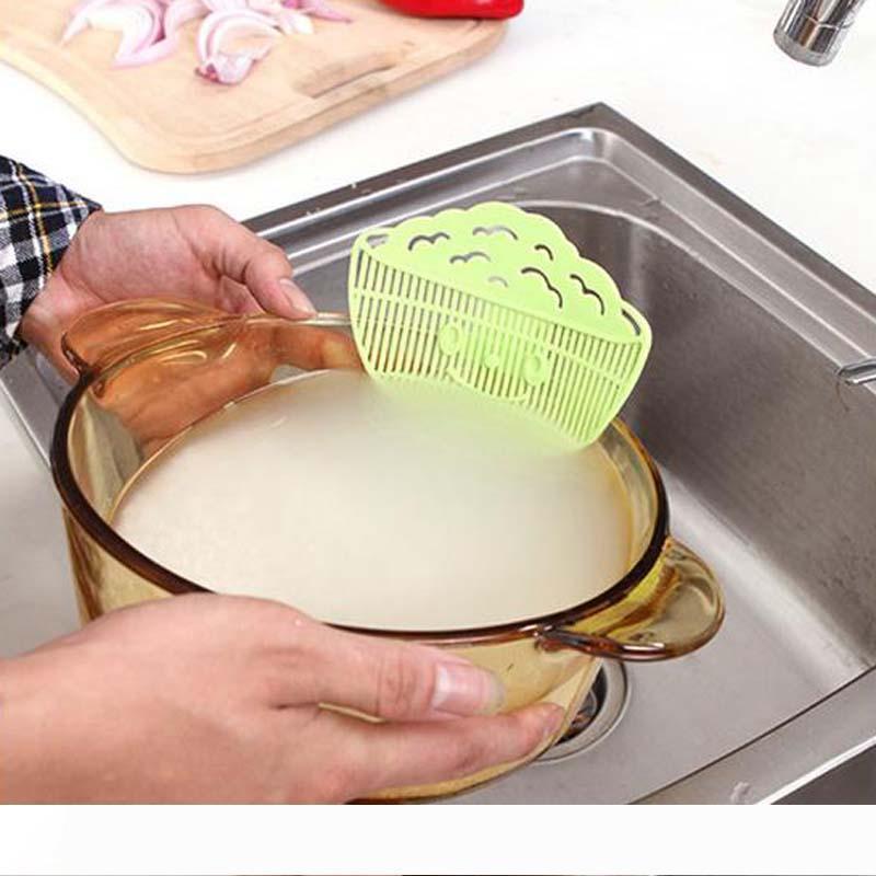 B 2017 nouveau filtre de vidange riz dispositif de lavage à pince sur les fruits vidange sourires Creative et filtres des débris de grains végétaux