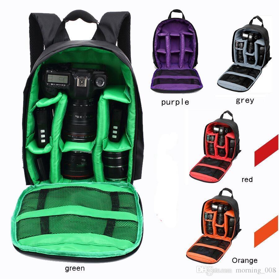 Digital SLR DSLR Camera Bag Soft Padded Backpack,Professional Waterproof Shockproof Digital SLR DSLR Camera Bag Soft Padded Backpack Suitable for Canon for Nikon