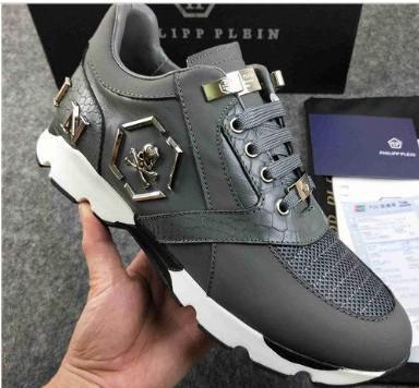 Neu kommen Sneaker Plattform Herrenschuhe Arrive92 Topstars Luxus Schicht-Leder von Rivet beiläufigen Männer Schuhe EUR38-45 mk708