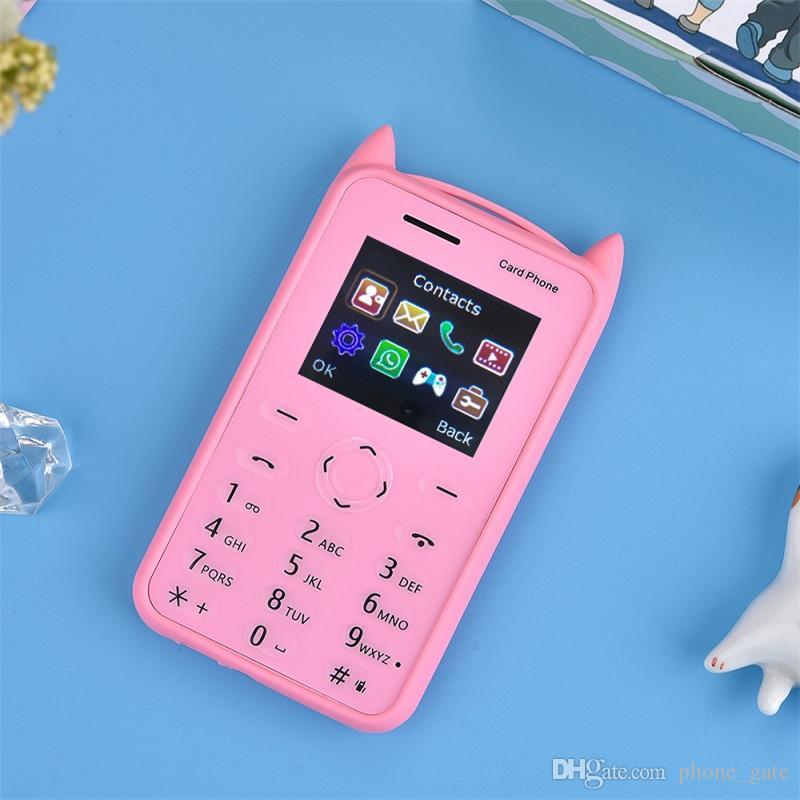 Enfants Mobile Téléphone Mini enfant Bluetooth 2G GSM 30mp Caméra Support TF carte SIM Simple MP3 Musique Jouets Cadeaux A5 Avec Boîte Au Détail