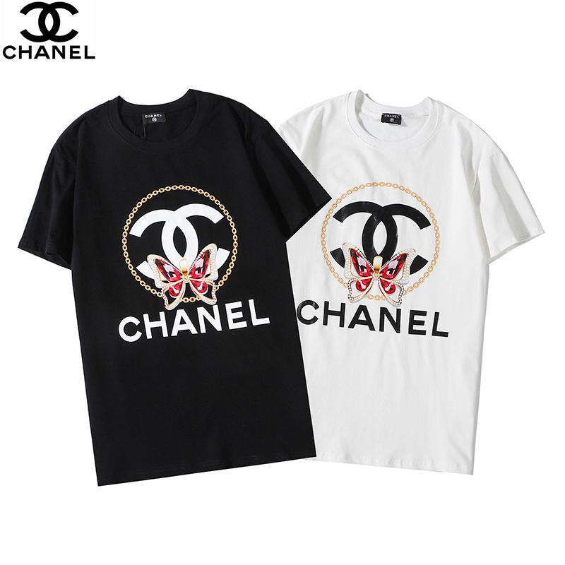 Diseñador de la camiseta 19SS Hombres Mujeres Palm Hip Hop de gran tamaño de la camiseta del verano de Calle Ángeles para hombre diseñador de la camiseta