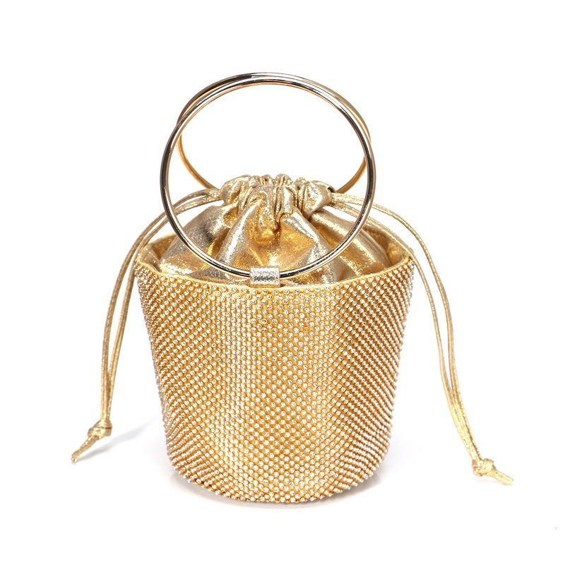 Lüks Lady Debriyaj Çanta Moda Elmas Elmas taklidi Totes Çanta İçin Kozmetik Kepçe Yüksek Kapasiteli Çantalar Ücretsiz Kargo