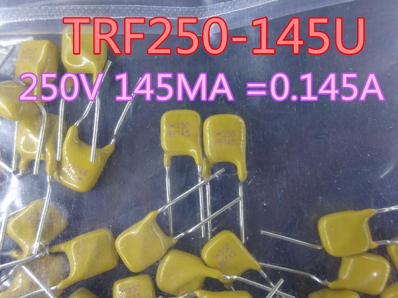 200PCS / lot جديد فيوز TRF250-145U 250V 145MA = 0.145A في سوق الأسهم شحن مجاني