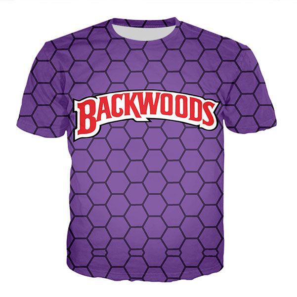 Neueste Art und Weise der Männer / Womans Hinterwälder Honig Berry Blunts Sommer-Art-T-Shirts 3D-Druck-beiläufiges T-Shirt Tops Plus Size BB0190