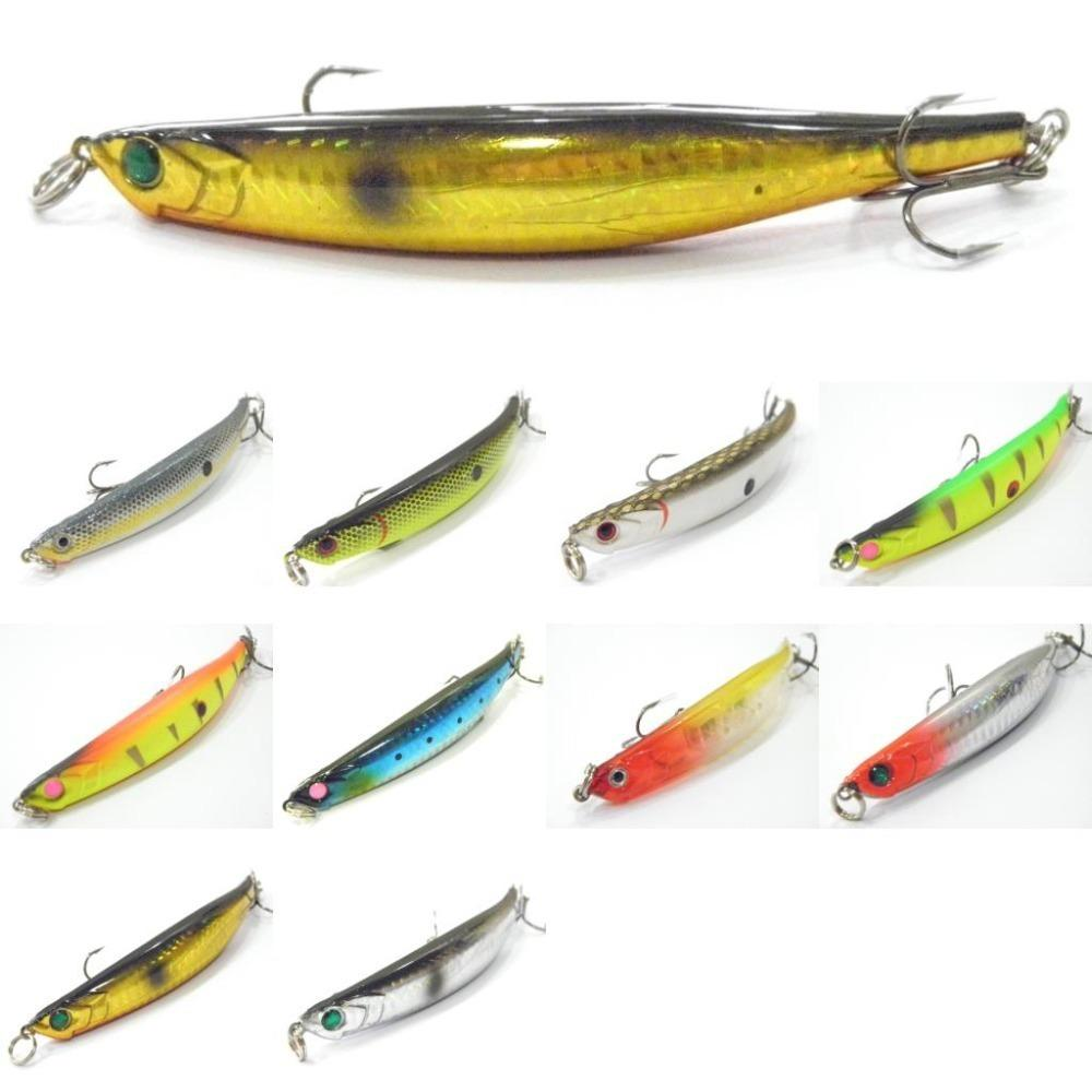 11.6g 11.4cm Bend Body Style Dying Like Minnow Slow Sinking Subsurface Muskie Bait Twitch Fishing Lure W625