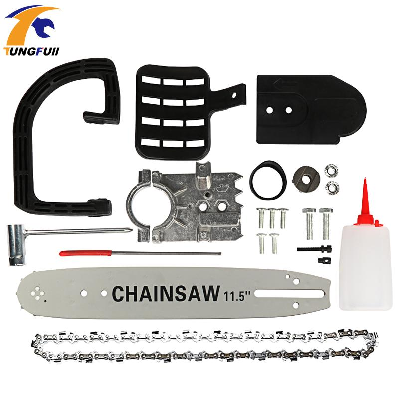 Chainsaw bracket M10 / M14 / M16 Electric Chain Saw Bracket Replacement 100 125 150 Angle Grinder Logging Special