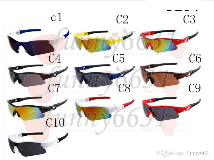 summer newest style Bicycle Glass Only glasses 10 colors sunglasses NICE FACE Take the sunglasses Dazzle colour glasses 30pcs/lot Afree ship