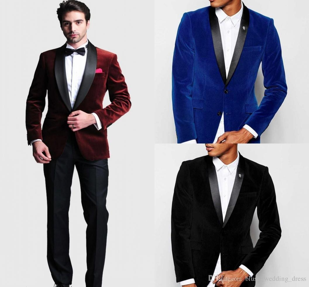 3 Piece Slim Fit Grey Best Man Groomsman Men Wedding//Prom Suits Groom Tuxedos