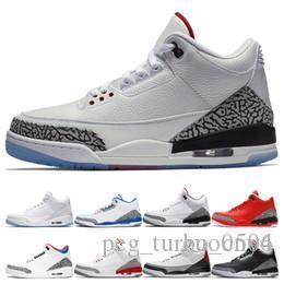 Мужская баскетбольная обувь Спортивное спортивная обувь 3С-МУ правда синий чистый белый Тинкер благодарна черный цемент Катрина Корея Мужские спортивные кроссовки 40-47