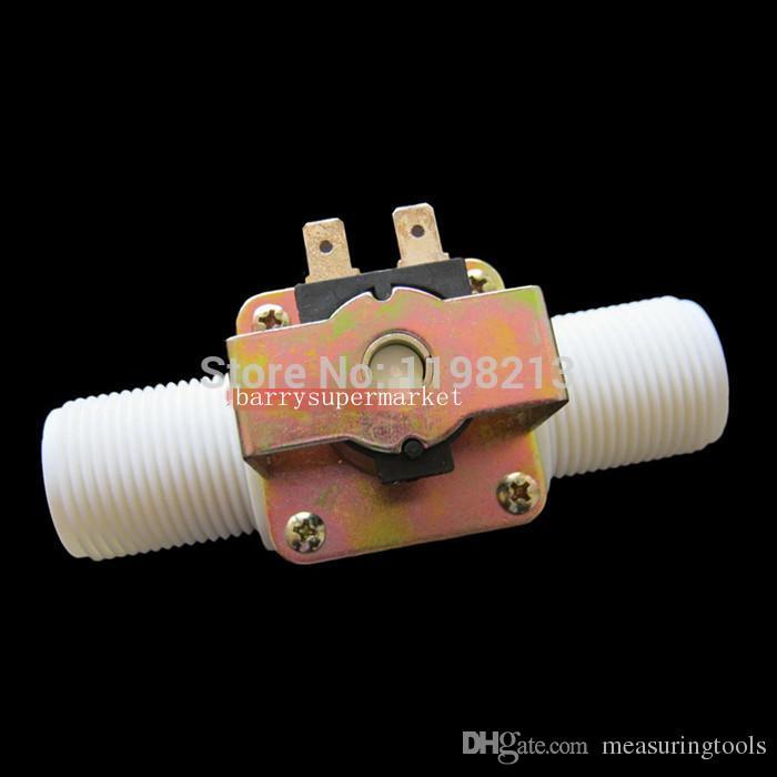 """G1"""" Water Flow Meter Sensor Counter Indicator Controller LCD Display + FS400A Flow Sensor Meter+ Solenoid Valve Gauge DN25"""