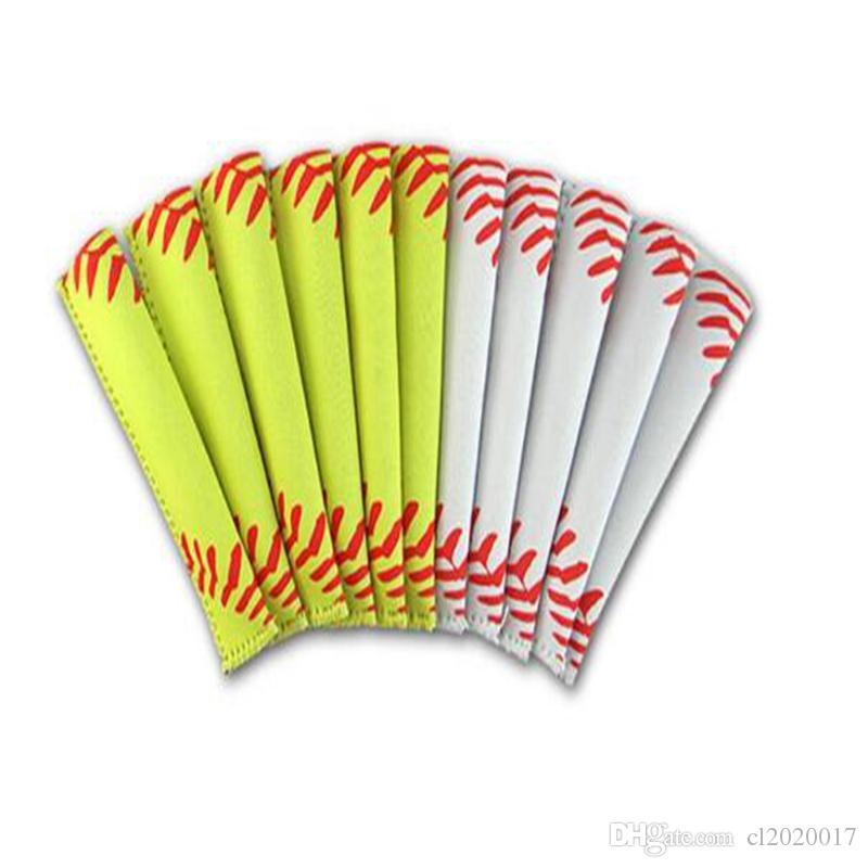 Mode Sport Pop Tasche Rechteck Neopren Popsicle Form Ärmel Halter Lilie Baseball Rugby Eis Abdeckung