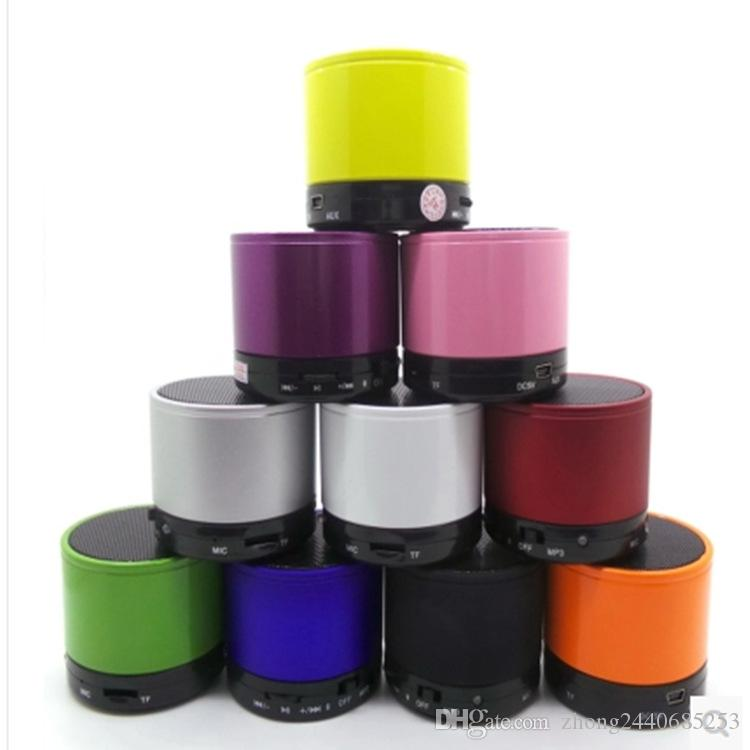 S10 Stereo Bluetooth Speaker Support U Disk TF Card Universal Mobile Phone Music Mini Wireless Outdoor Portable Woofer Subwoofer