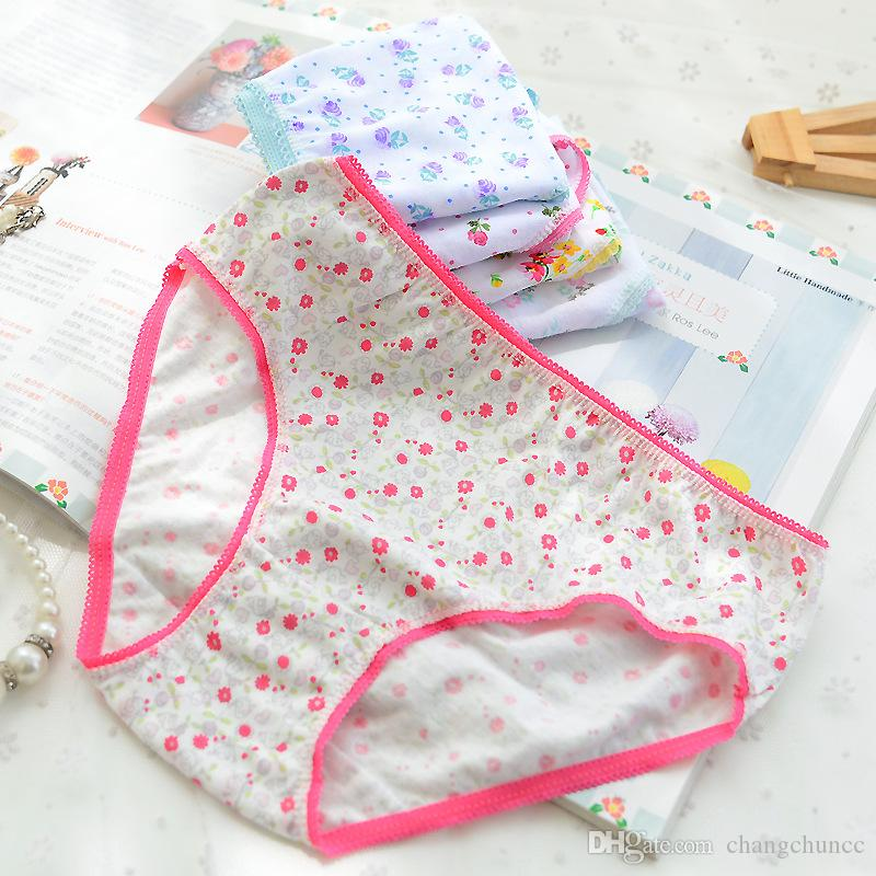 12Pcs/Lot Cotton Panties Girls Kids Short Briefs Children Underwear Child Cartoon Shorts Underpants Girl Panties