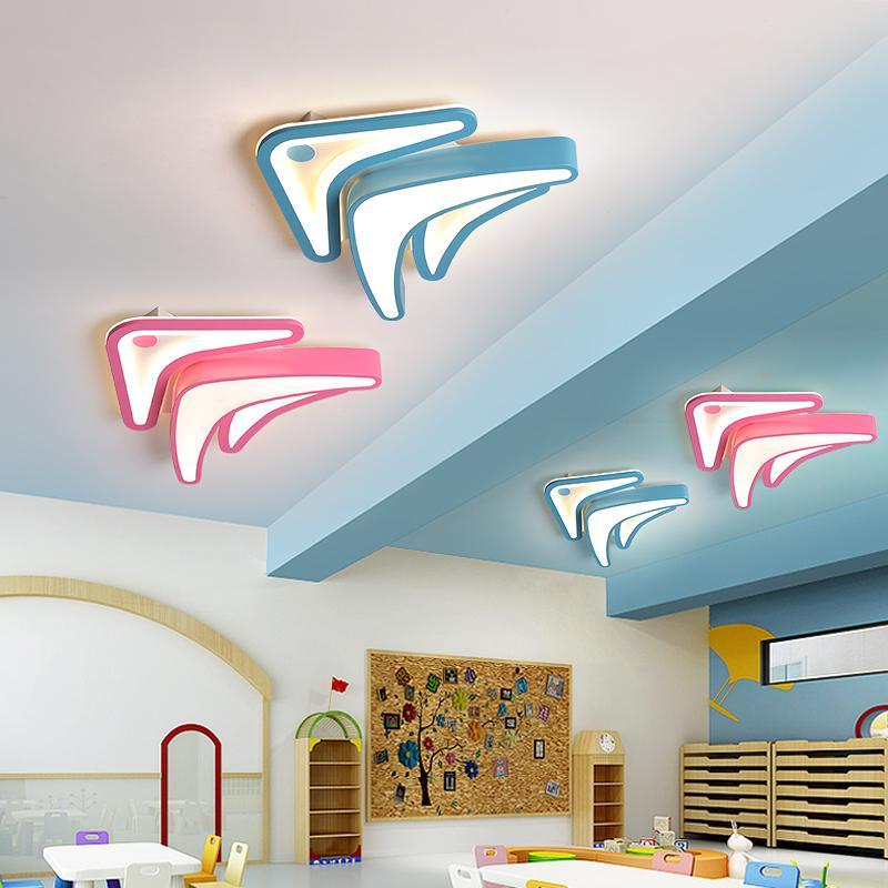 Neue Ankunfts-Moderne LED-Kronleuchter für Wohnzimmer Schlafzimmer Arbeitszimmer Raum Home Deco Deckenleuchter Beleuchtung für Baby-Kinder