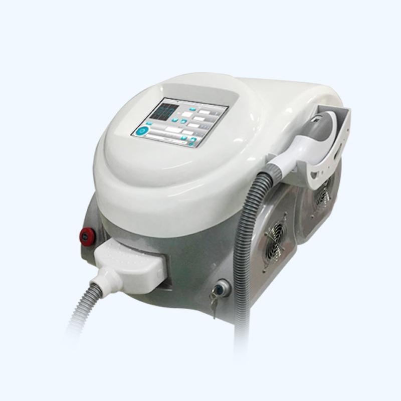 Портативный интенсивный импульсный легкий лазерный станок для удаления волос для удаления пигмента для волос Удаление волос SHR IPL удаление лазерного устройства