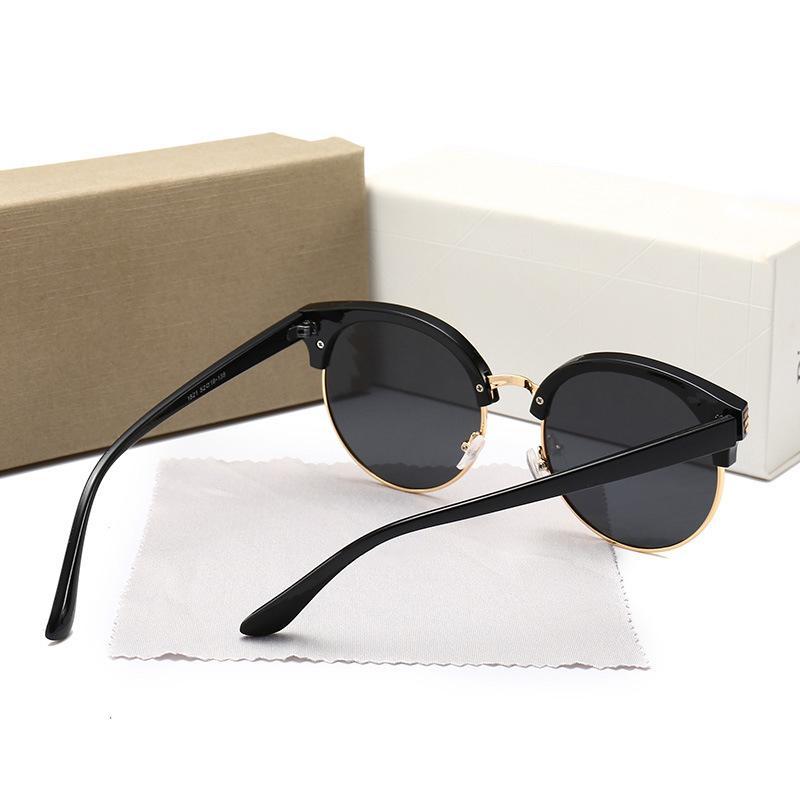 Occhiali da sole classici all'ingrosso occhiali da sole semi-senza montatura occhiali da sole uomo donna moda economici occhiali da sole promozionali