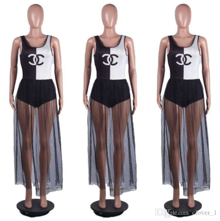 Bayan kolsuz yaz elbise tasarımcısı Kat Uzunlukta tek parça elbise yüksek kalite skinny etek zarif lüks seksi clubwear sıcak klw1666
