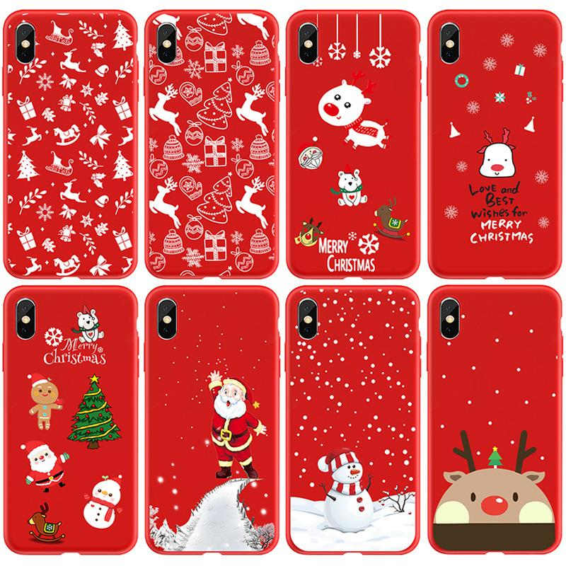 Wholesale Red Cartoon Cover Shell Cell Phone Cases For Iphone 11 Case 11pro Max Xs Xsmax X 8 7 6s Case Shell