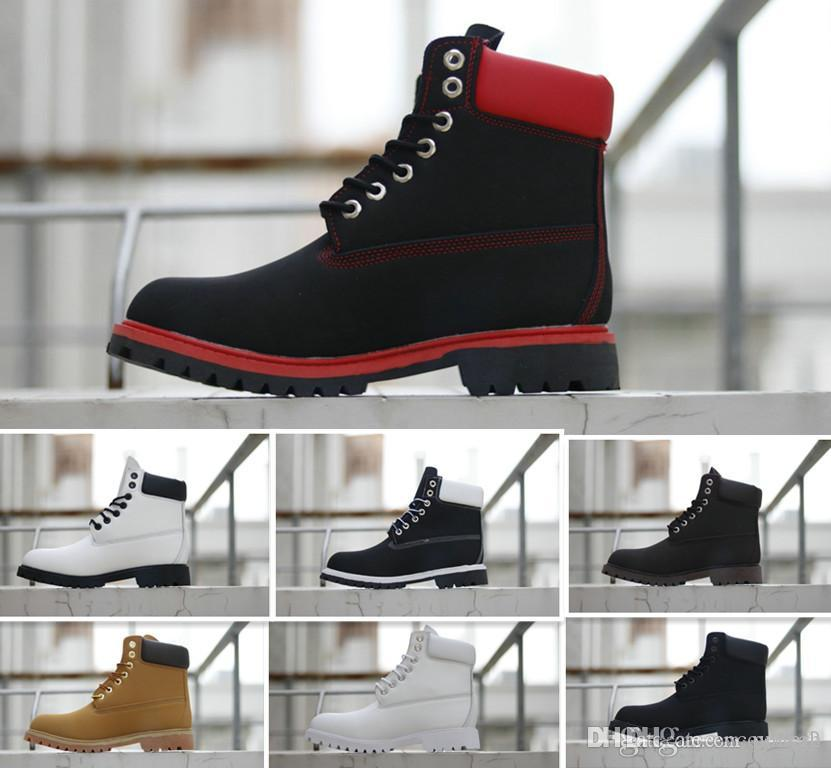 2020 Winter Martin Boots Womens Mens Street Ankle Boot Combat Work Tactical Military Winter boots Outdoor Work EUR 36-46