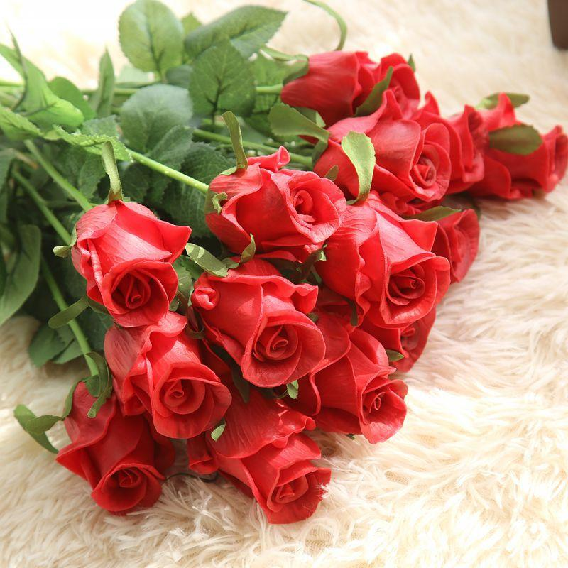 Criativo enviar a sua namorada caixa de presente de sabão flor mais urso amor lâmpada de sabão flor presente de aniversário dia dos namorados Decoração do casamento do dia dos professores