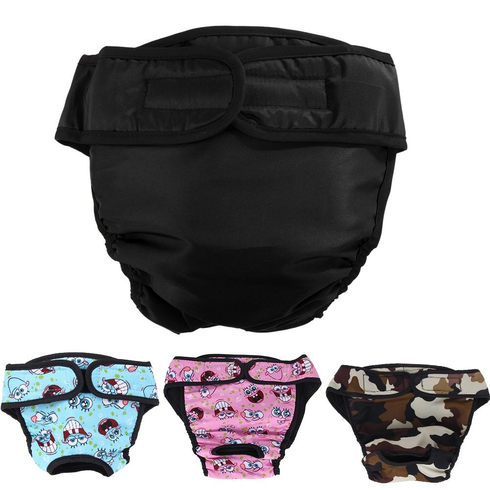 XS-XXL Dog Diaper Physiological Pants Sanitary Washable Female Dog Panties Shorts Underwear Briefs For Dogs Dog Apparel
