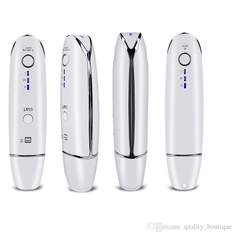 Home Use Mini Hifu Ultrasonic RF Face Lifting Wrinkle Removal Line V-Shape Anti-wrinkle Skin Tightening Beauty Machine