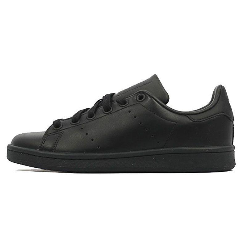 Acheter Adidas Stan Smith Hommes Femmes Original Smith Casual Chaussures Stan Baskets Vert Noir Blanc Bleu Rose Argenté Fashion Chaussures Plates En