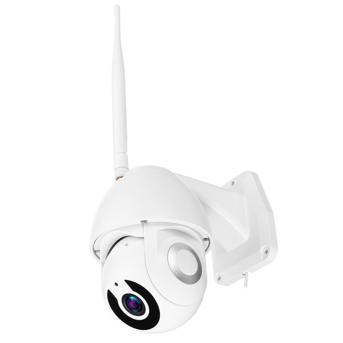 5X Zoom Waterproof WiFi IP Camera PTZ Pan Tilt 1080P HD Security IR Camera Night Vision - UK plug