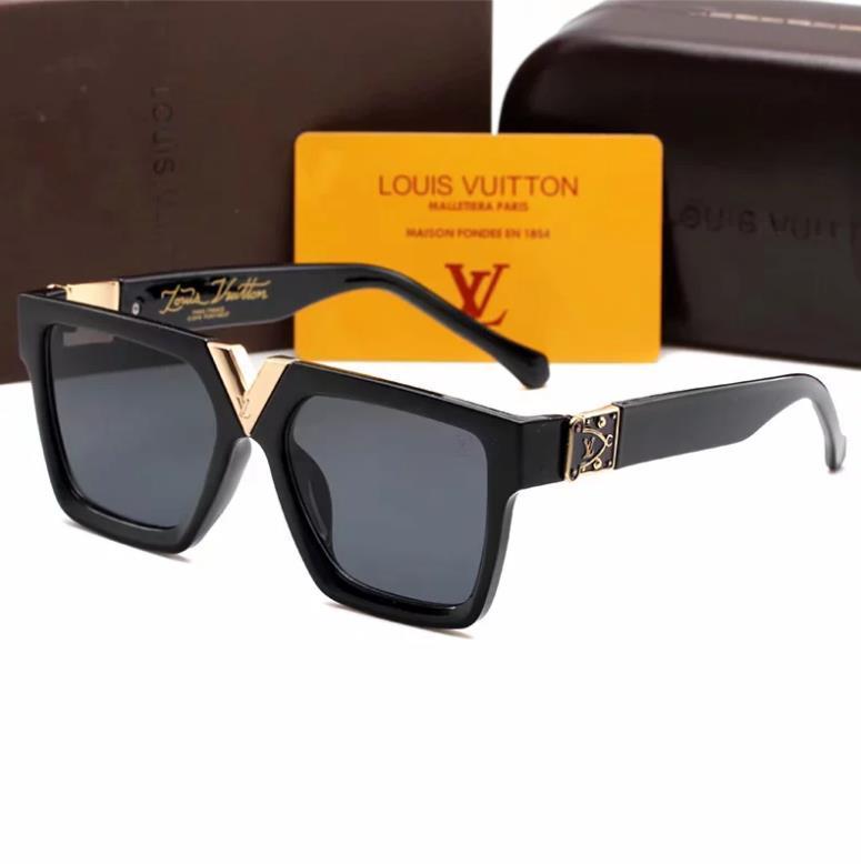 marca gafas de sol gafas de sol de la moda de sombreado clásico de la señora de lujo 2371 gafas de sol de espejo al aire libre para la entrega gratuita 01