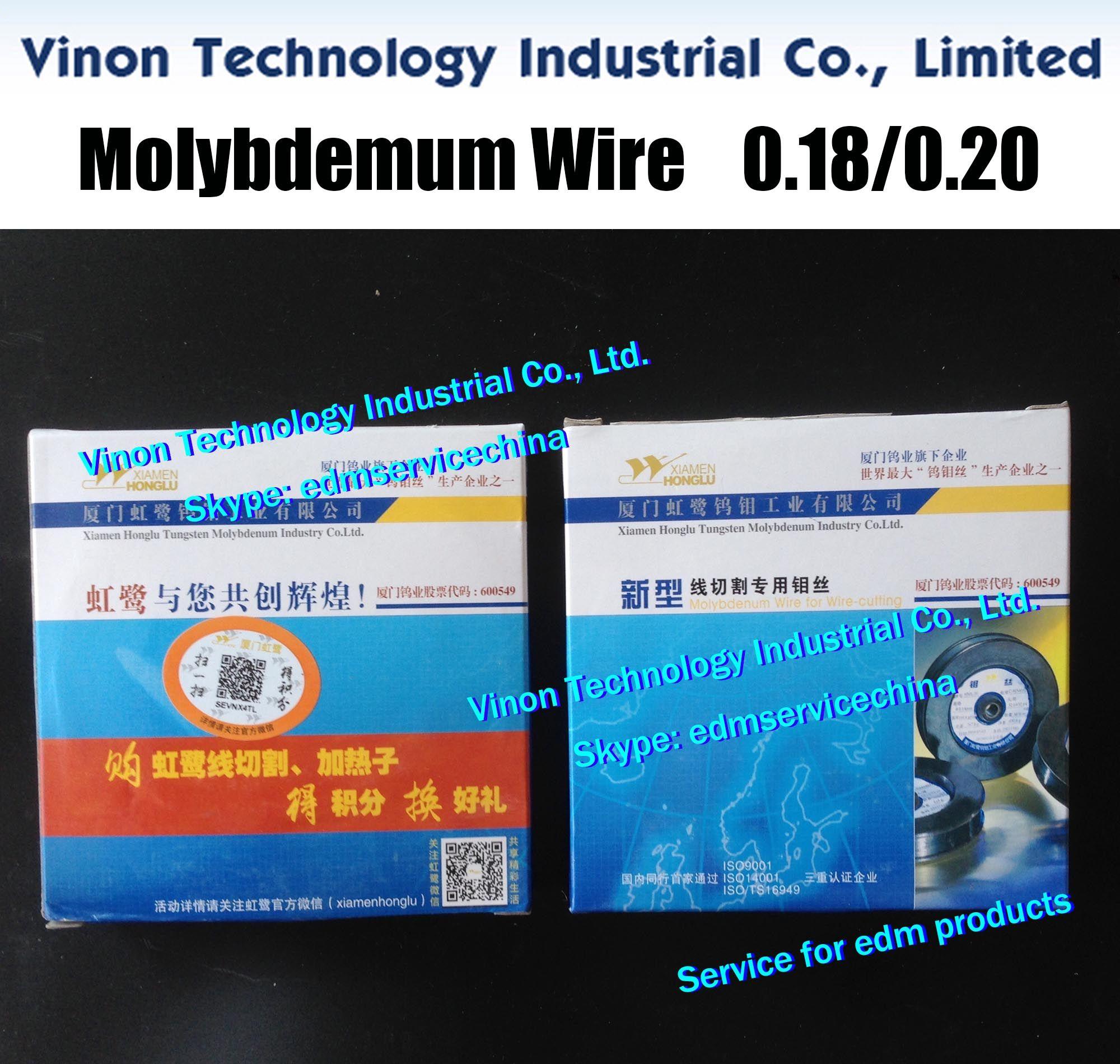 (5 Spulen) 0.18mm * 2000meters EDM Molybdändraht (Honglu Marke), HS-WEDM Molybdändraht für 0.18mm Drahtabschneide (5 Spools = 10,000Mtrs)