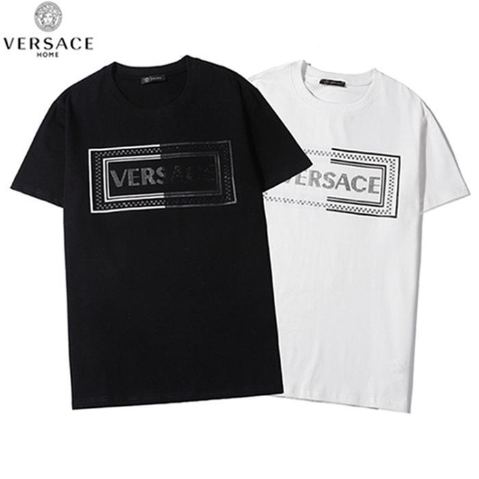 20 neue Sommer-Mode-T-Shirt aus Baumwolle T-Shirt-Designer-Marke für Männer und Art und Weise der Frauen Qualitätsdrucke kostenloser Transport Großhandel 01