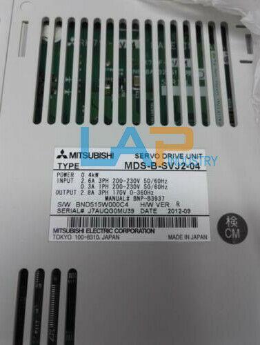 0,4 kW 1PCS NUEVO Para Mitsubishi MDS-B-SVJ2-04 MDSBSVJ204 220V