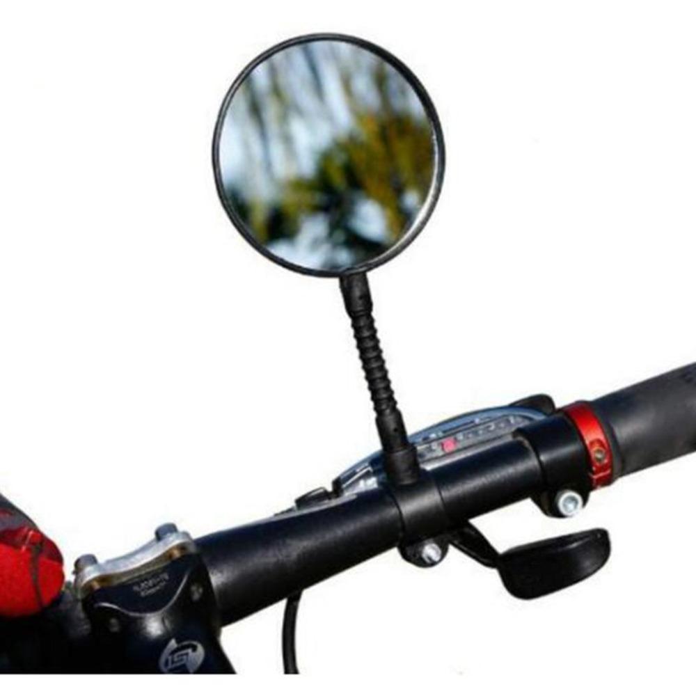 Ajustável rotativo Easy Install Ver Ciclismo Mountain Road da motocicleta da bicicleta bicicleta espelho retrovisor Handlebar Espelho Retrovisor
