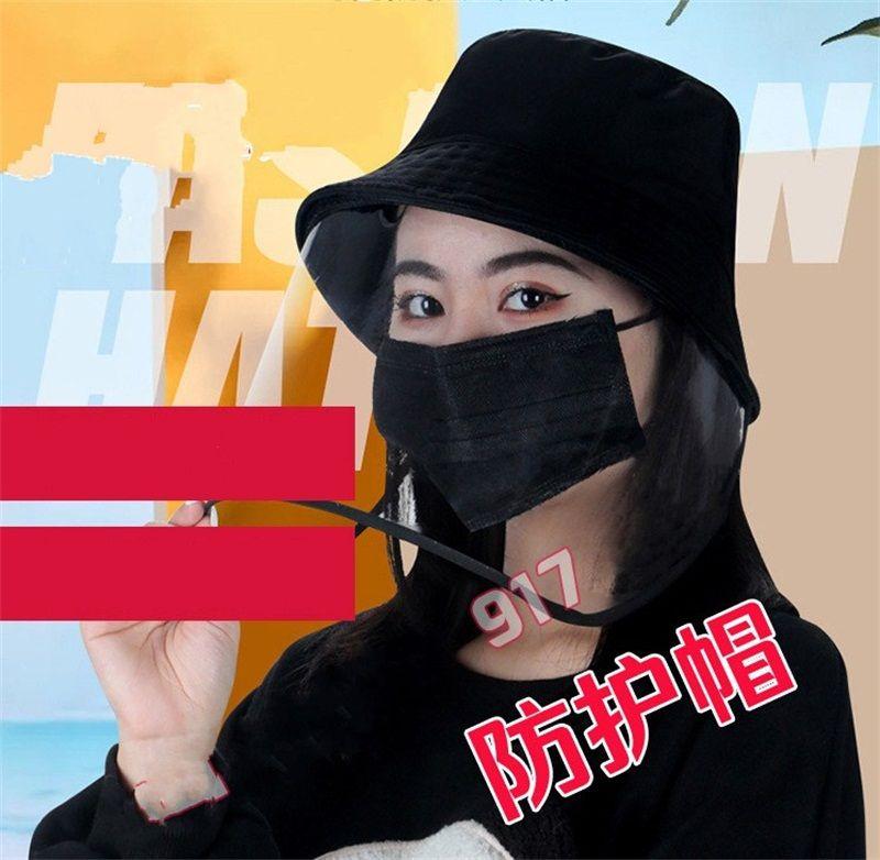 Mulheres Homem Chapéu Panamá Proteção Verão Chapéus face Escudo Cap Máscara Dustproof Segurança Protecção Anti Poeira 10 8nk E1