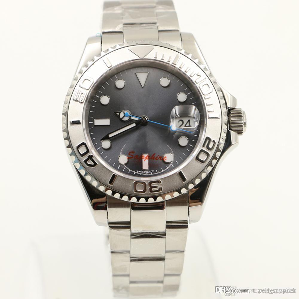 2019 hot sale New fashion Mens watch men Rol watches Master sapphire glass top quality wristwatch men watch free shipping