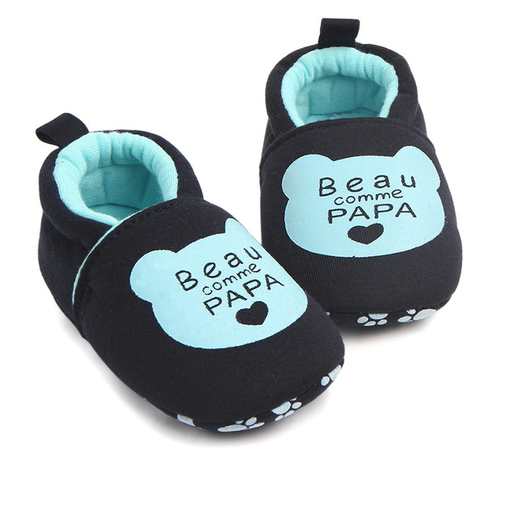Lovely Toddler Shoes,Winter Warm Baby First Walkers Round Toe Flats Soft Slippers Shoes