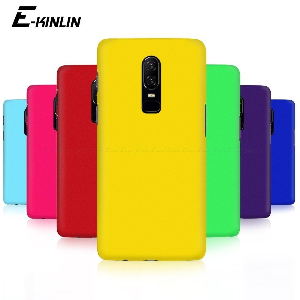 Hard Pc Matte Phone Case Ultra Thin Slim Plastic Back Cover For One Plus Oneplus 6t 6 5t 5 3t 3 T A6010 A6000 A5010 A5000 A3010