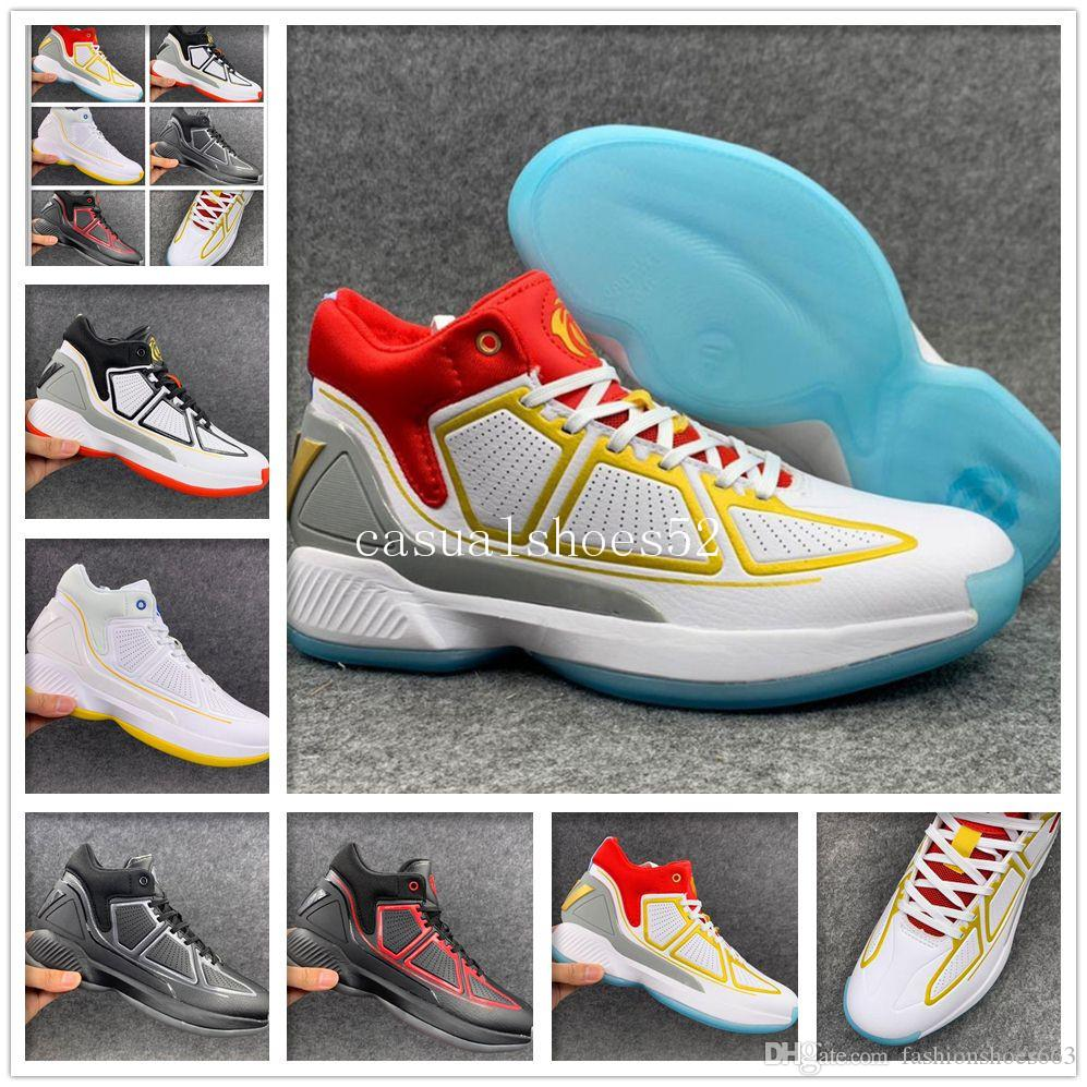 High Quality 2019 Cheap sports Mens D Rose 10 YR Red Bounce basketball Shoes Derrick 10s Athletic Designer Sneakers Trainer Size 40-46