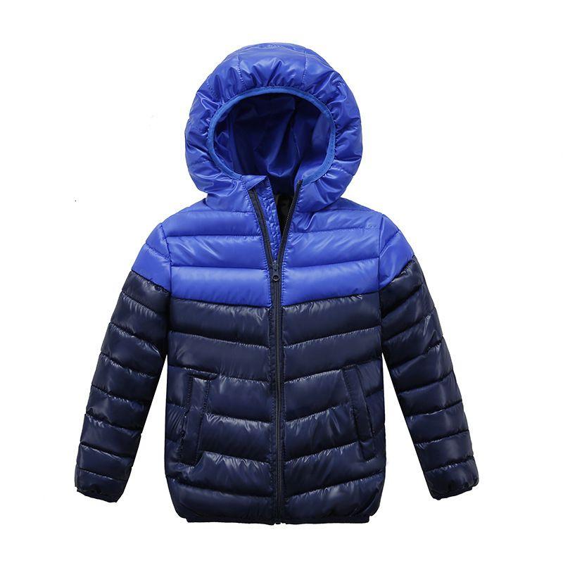 Manteau chaud enfant hiver Enfants Vêtements Vêtements bébé coupe-vent Bébés garçons filles Vestes pour 2-10 Ans