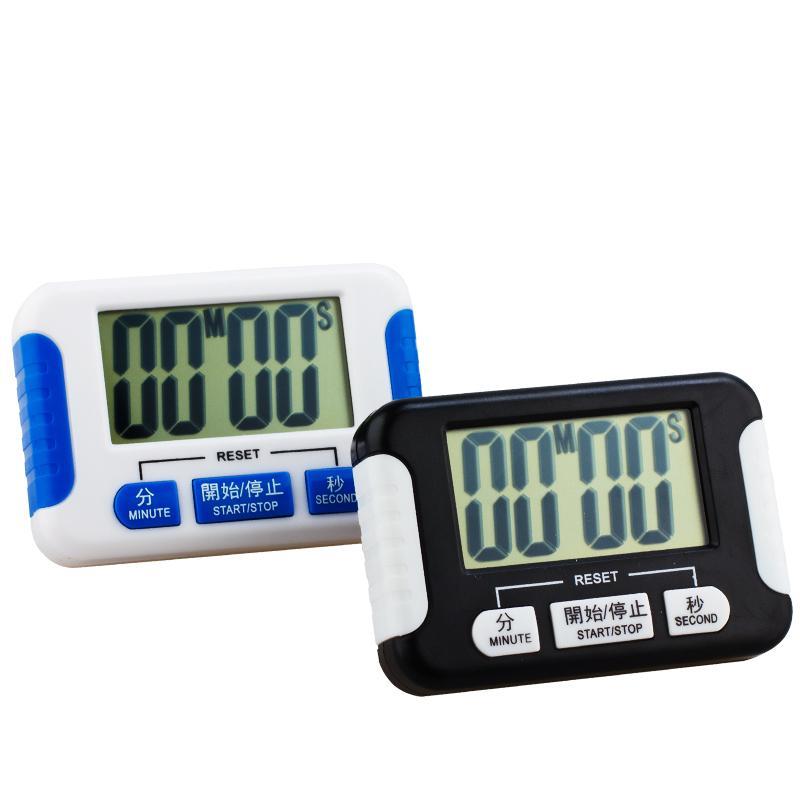 Grande tela Kitchen Timer Alarm Eletrônica Interval Timer Segmento cronômetro Chronograph Sports Yoga Boxing Gym Treinamentos Temporizador