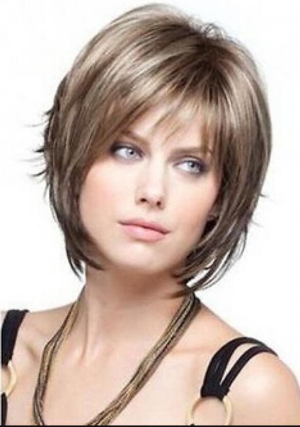 WIG Envío Gratis Moda Corta mujer dama niñas Reese por Noriko Wigs Pelucas de pelo recto